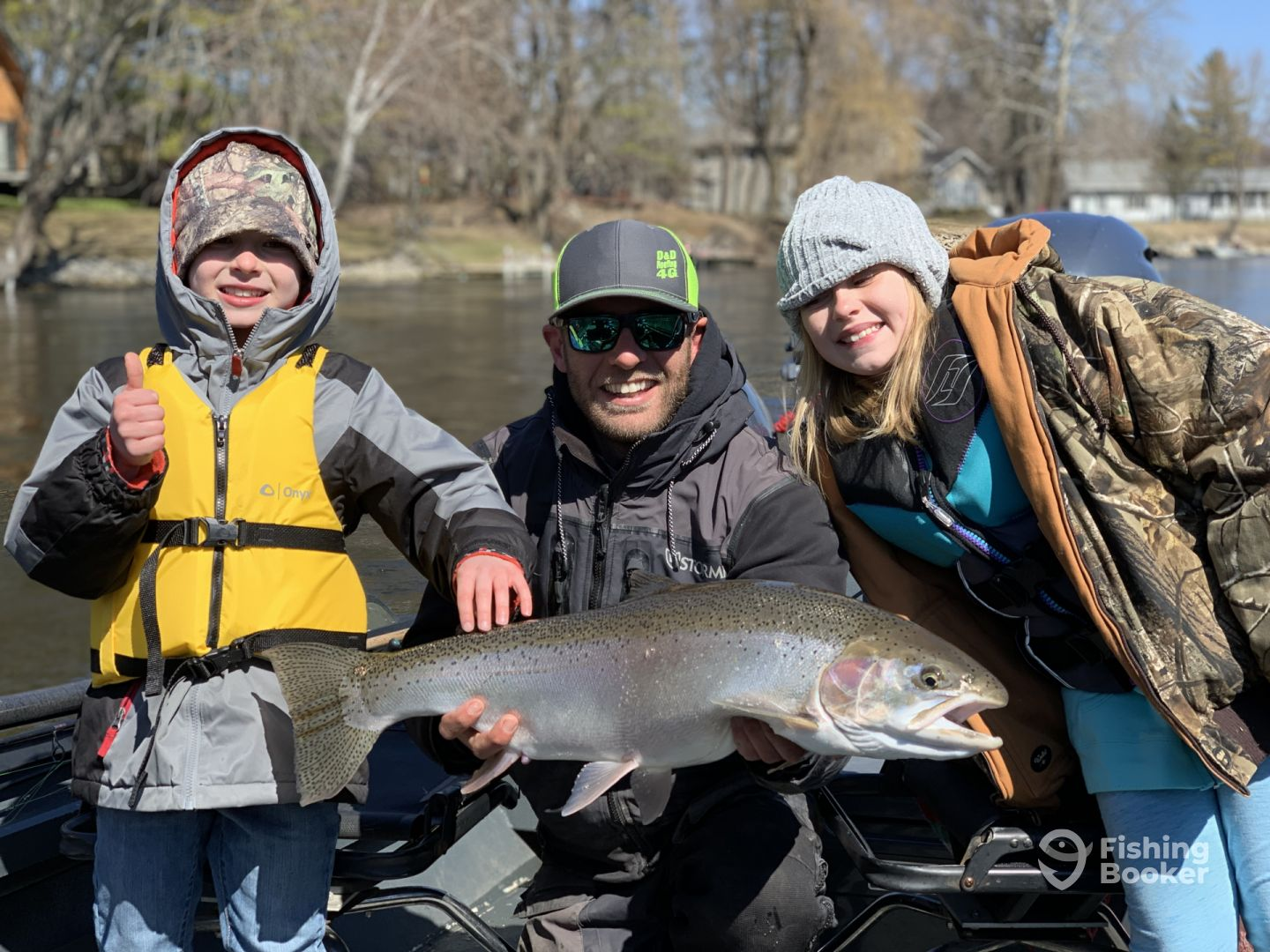 Spring Steelhead On The Muskegon River - Newaygo Fishing
