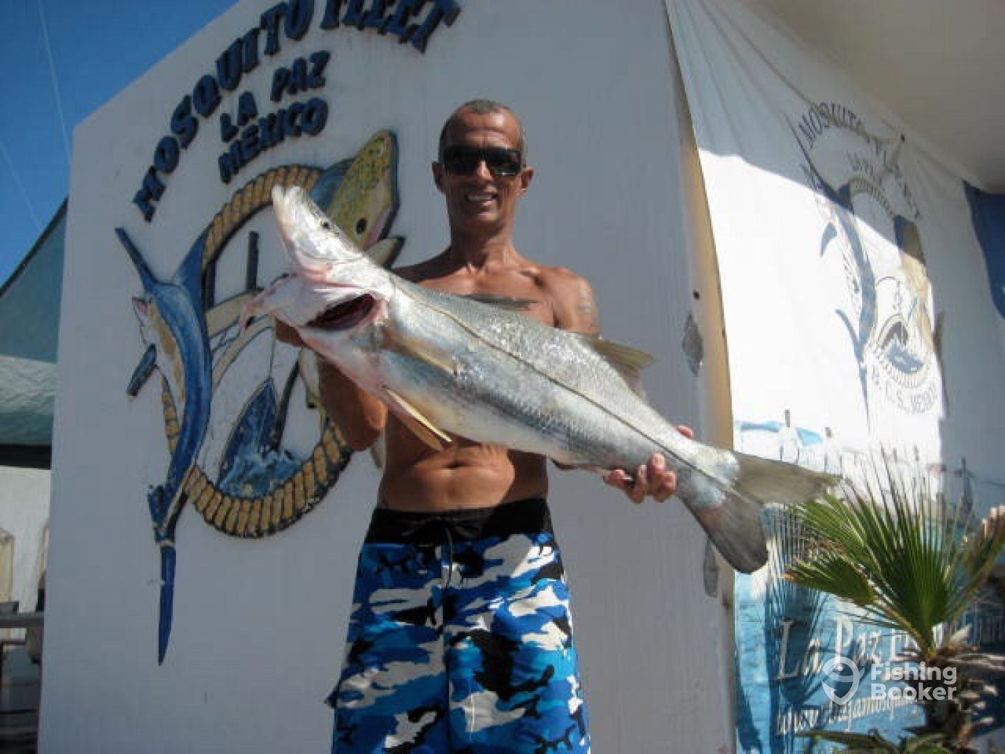 Snook fishing in La Paz