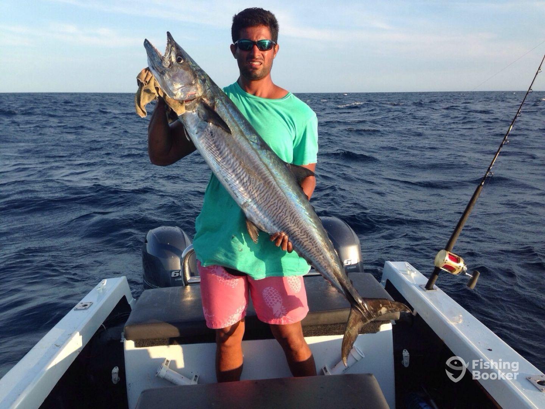 King mackerel 21 kg