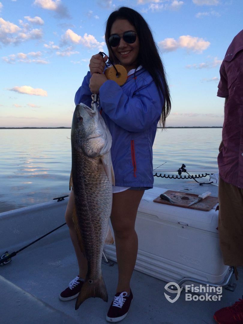 Big redfish plus trout and drum corpus christi fishing for Corpus christi fishing report