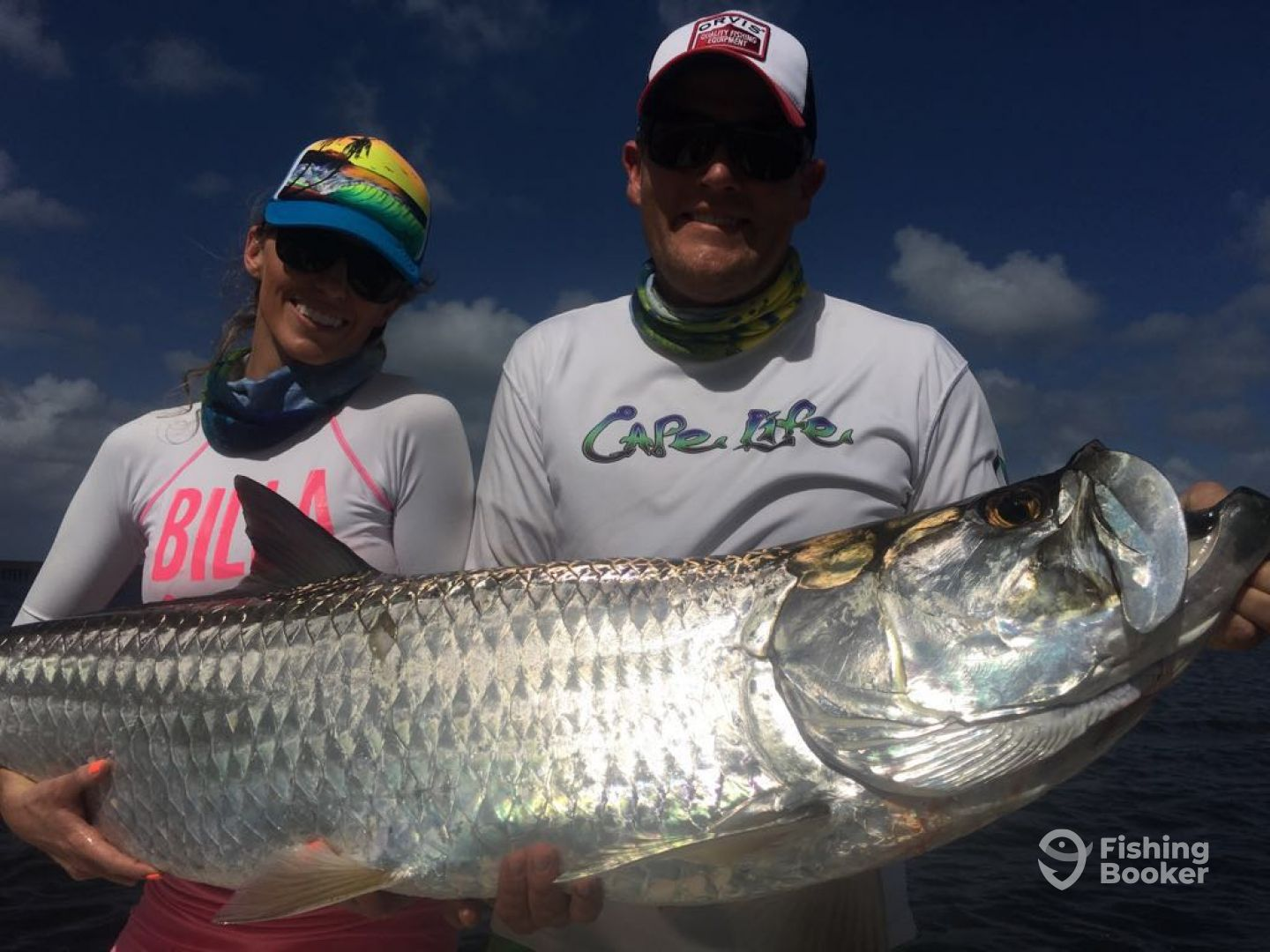 Big Tarpon on Light Tackle