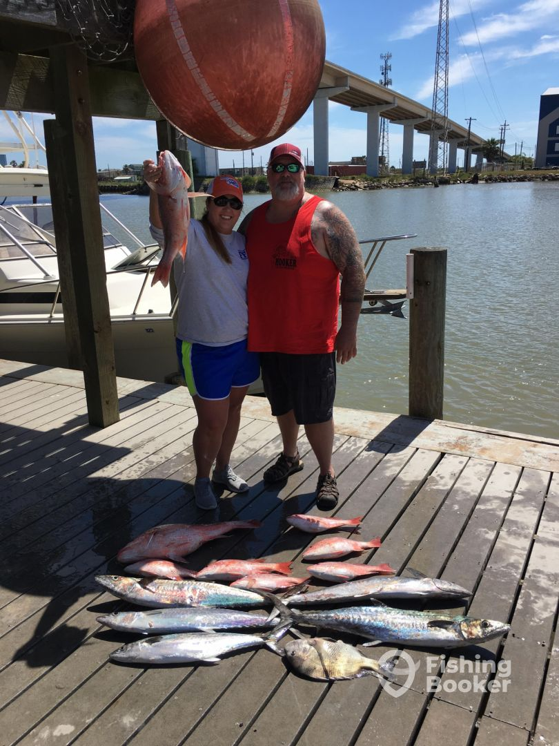 Week of 4 17 freeport fishing report fishingbooker for Freeport fishing report