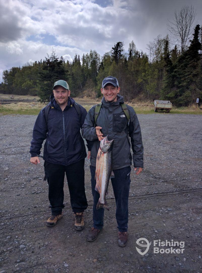 Kasilof river king salmon soldotna fishing report for Kenai river fishing report