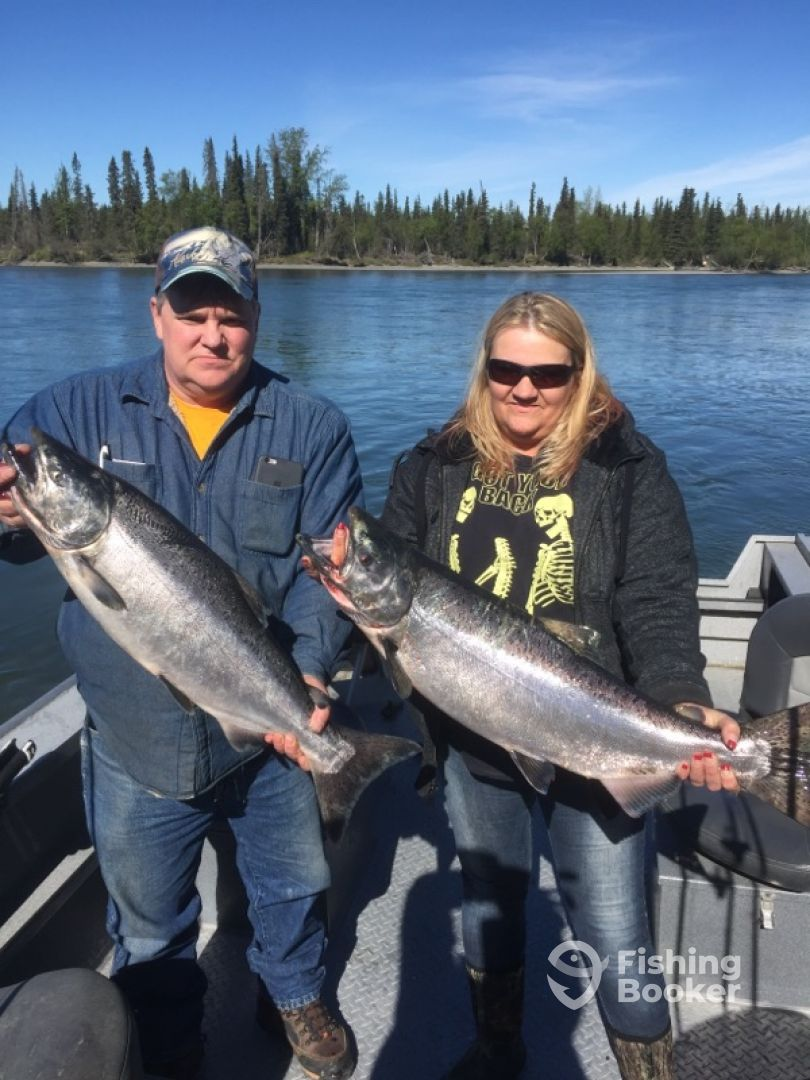 June 1 2017 epic kenai river king salmon soldotna for Kenai river fishing report