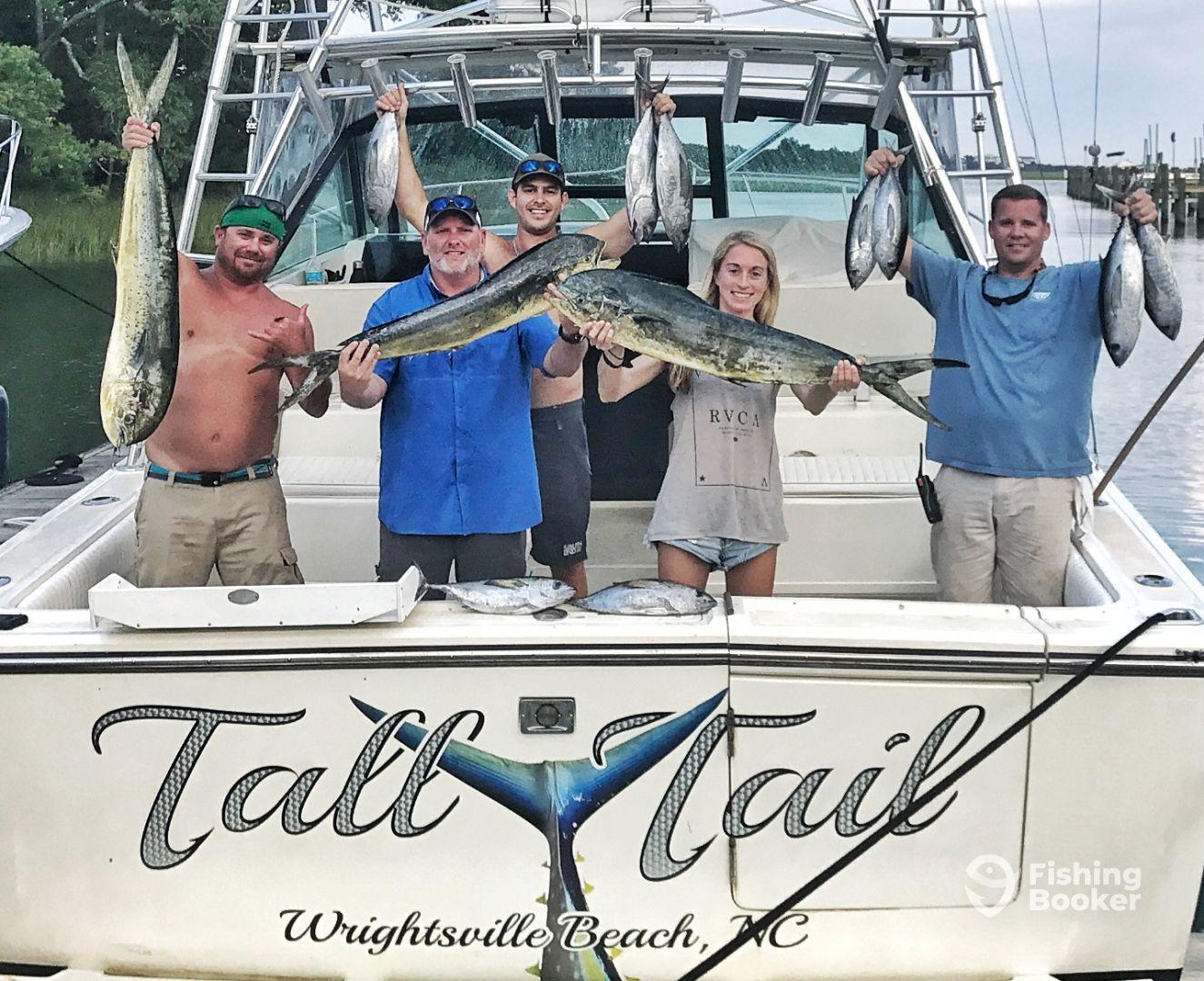 Gulf Stream Trip - Mahi & Tuna - Wilmington Fishing Report