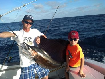Landed a beautiful Sailfish that we released