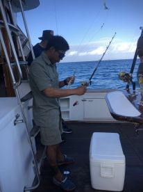Fishing with Ronnie