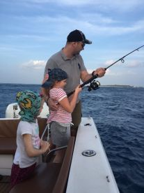 4-hour evening fishing with Island Fishing Charters