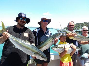 Full on kingfish day! January 2019