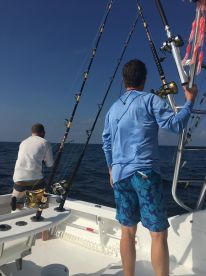 All day offshore fishing trip on The Moonwalker