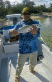 Caught lots of bonefish.
