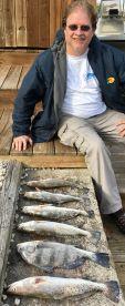 We greatly enjoyed fishing with Captain John!