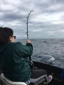 First deep sea fishing experience a great one!