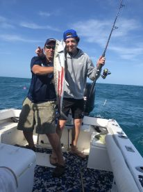 Awesome day with Capt Mark and Donny!