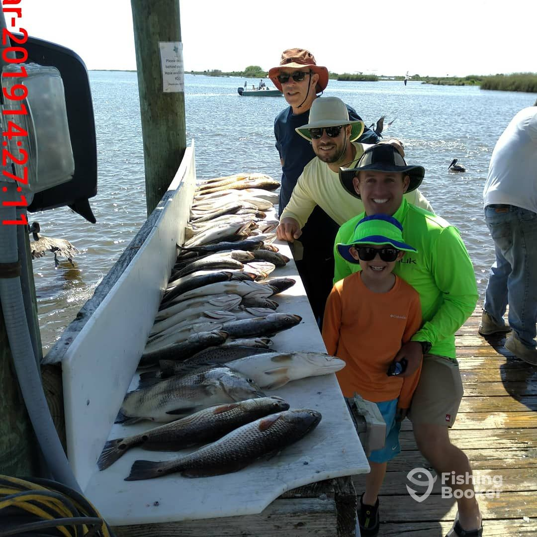 I just found Duvalle's Cajun Charters LLC  on FishingBooker