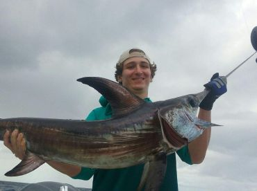 60 lb swordfish catch and release
