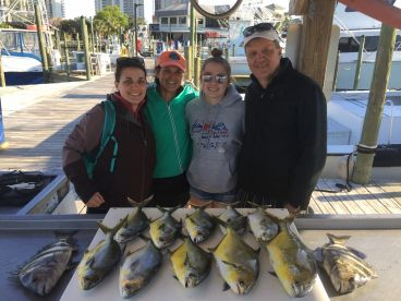 Wonderful time offshore fishing with Captain Clay!