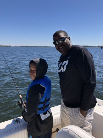 Great fun for kids first time fishing!