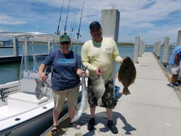 Fantastic half day of fishing with Captain Dan with Cutlass Fishing Charters.