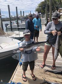 April fishing trip