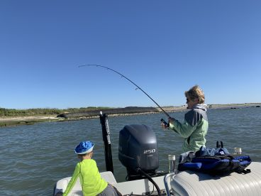 Fishing with Daryl