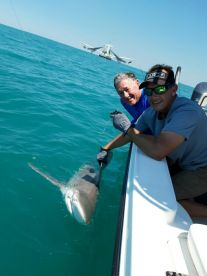 Had a great time catch this Bull Shark. The Captain knew his stuff