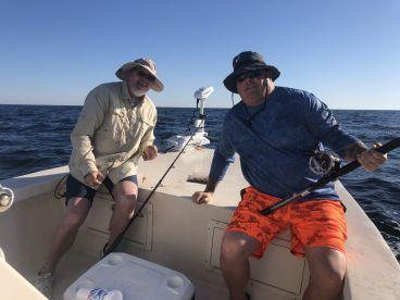 Fishing with Domenik