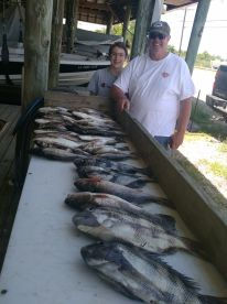 Two days fishing with Captain Joe