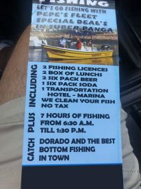 my only complaint is i paid for 8 hrs fishing i dont beleive i was on the water fishing for 8 hours