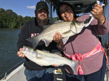 Amazing fishing trip