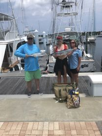Finally, my first salt water fishing trip at 55 years of age