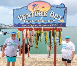 Full Day trip with Captain Mike, Tackle Buster Charters