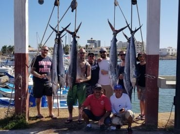 Full day fishing with Captain Alex on the Paty C
