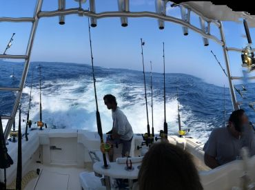 Full Day Offshore with Capt. Russ and crew