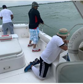 Royals Barber Shop Fishing