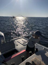 A.M. inshore trip with Captain Garrison