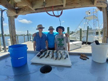 Half Day Trip with Capt Mike Peek