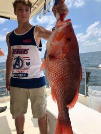 Fishing with Albert