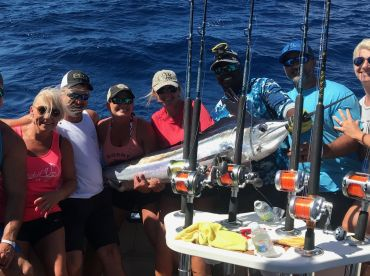 Full day trip on Tease Me Fishing Charter