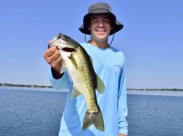 Half day bass fishing with Captain Jonathan
