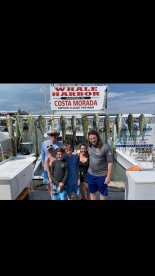 Full Day fishing with Captain Claude and First Mate Addison.
