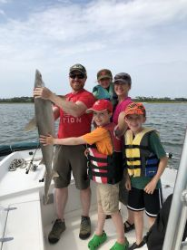 Awesome shark fishing on inland half day