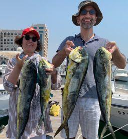Fun half day fishing with Captain Sasha