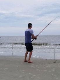 Half day of beach fishing