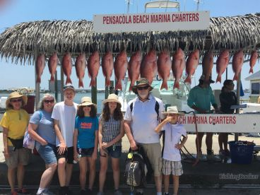 Half day snapper fishing trip with Captain Sean and Mate Jeremy