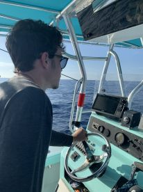 8 hour offshore fishing with Captain Eric.