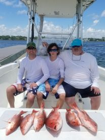 Capt. Tanner  put us right on the fish !