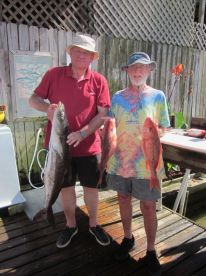 Full day with Captain Joe Dewberry on the Fishing Frenzy