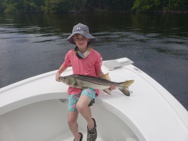Half day trip with Captain Tyler @ Indigenous Charters
