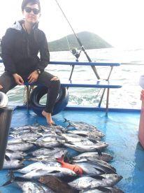 Half day with Captain Hana K